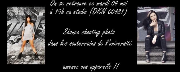 Shooting dans les souterrains