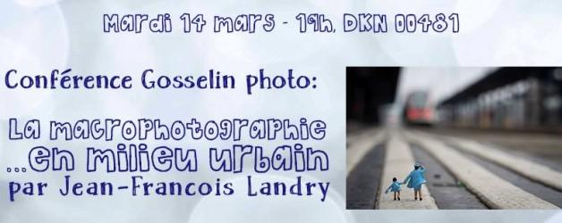 Conférencier Jean-François Landry