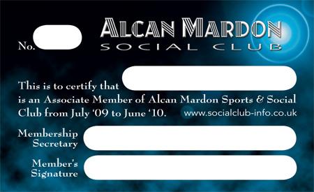 Membership Card Design - Unitedijawstates - club card design