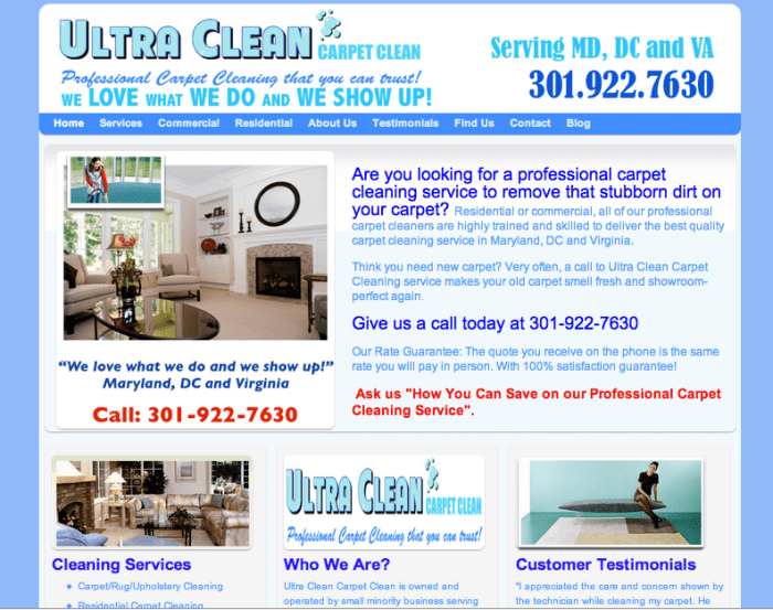 Ultra Clean Carpet CLeaning