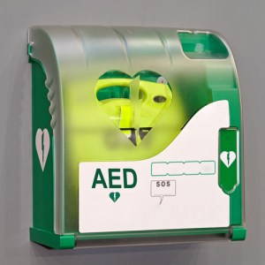 Automated External Defibrillator (AED) portable electronic life saver