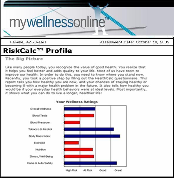 Optimum Health Management Services - risk assessment report
