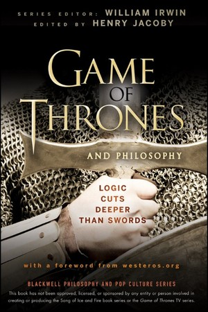 Exclusive Game of Thrones Philosophy Book Giveaway