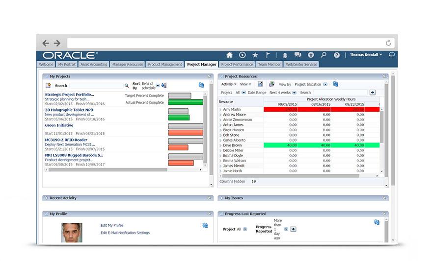 Project Management Cloud \u2013 Project Portfolio Oracle India