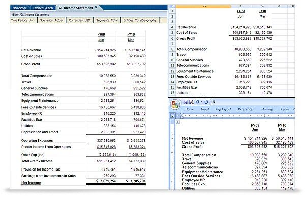 Oracle Hyperion Financial Reporting Enterprise Edition