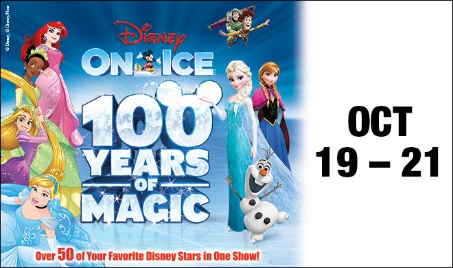Disney On Ice celebrates 100 Years of Magic Oracle Arena and