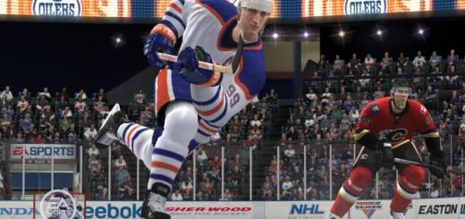 Wayne Gretsky is one of the main Legends in NHL 12.