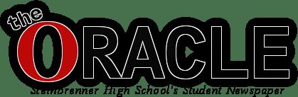 The Oracle Logo 2 Black Newspaper Tagline