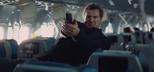 Liam Neeson fights off hijackers on a plane from New York to London.