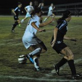 Steinbrenner battles Gaither in the home event last Thursday. They host Jefferson Monday, November 10th.