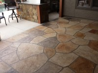 Decorative Concrete Stamped Patio Services