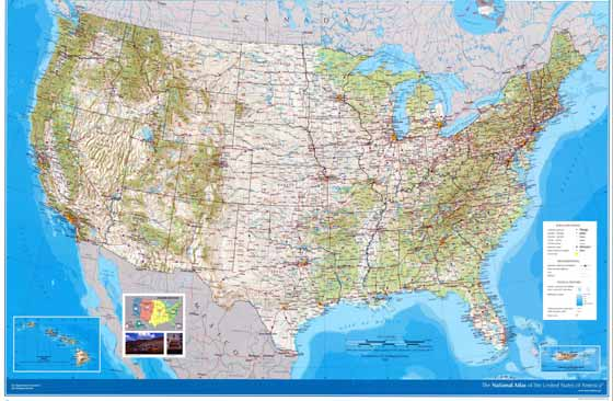 Amerika Birleşik Devletleri Haritaları İndirmeniz için - amerika haritasi