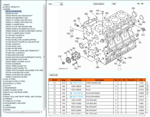 Kubota\u0027s Online Illustrated Parts Catalog OrangeTractorTalks