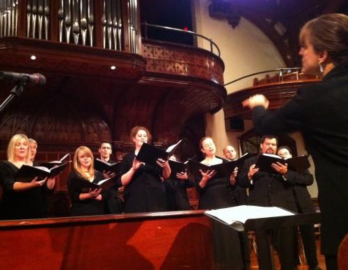 Resonance Ensemble gets doomy on Saturday in Portland.
