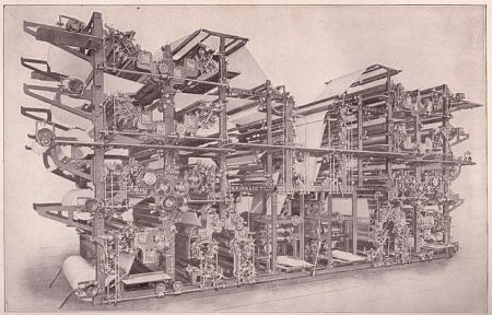 The Double Octuple newspaper press, state of the art in 1911