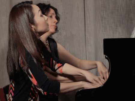 XX Digitus Piano Duo pianists Momoko Muramatsu and Maria Garcia give their debut full-length concert Thursday.