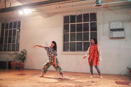 Lucy Yim and Takahiro Yamamoto in Fun/Fuck/photo by Lisa Wahlander