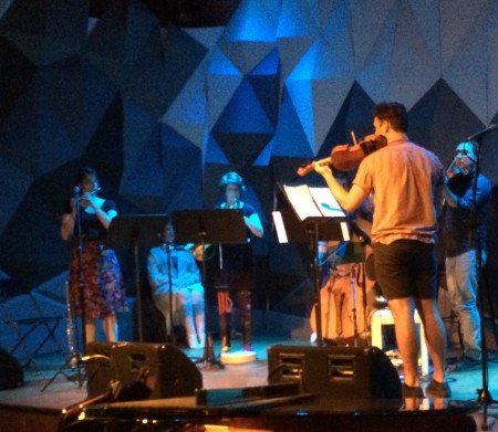 Sound of Late performs at Portland's Headwaters Theater.