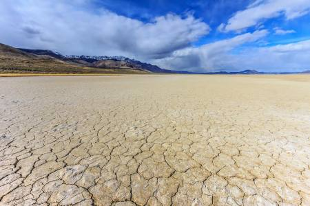Alvord Desert Salt Flats. Richard Hicks, photographer.