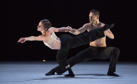 "Andrea Parson and Elijah Labay in ""Mother Tongue."" Photo: Blaine Truitt Covert"