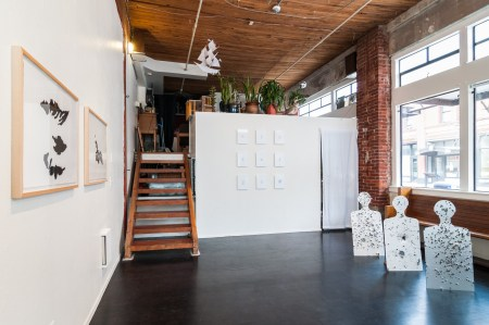 Gary Wiseman's exhibition at Portland 'Pataphysical Society/Photo by Mario Gallucci