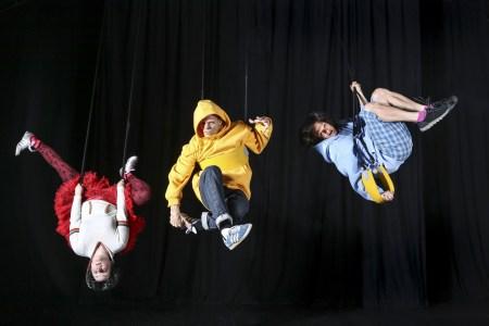 """Hangin' around """"Between Worlds"""" at Echo. Photo: Renata Kosina"""
