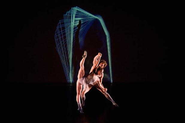 Seiwert's White Noise Ballet. Photo: Scot Godman.