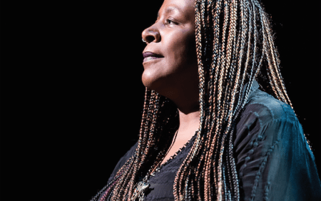 Dael Orlandersmith. Photo: Mikey Mann