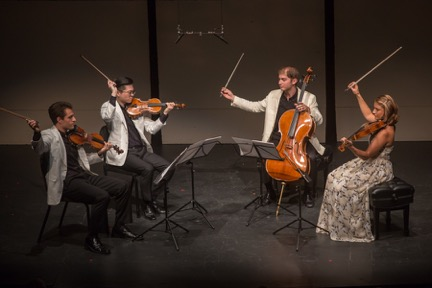 The Dover Quartet plays both Beethoven and a world premiere at CMNW this summer. /Photo credit:Tom Emerson