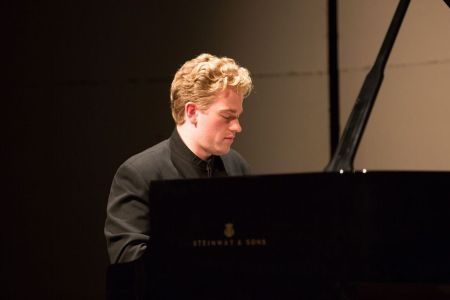 Joseph Moog performed at Portland Piano International. Photo: John Rudoff.