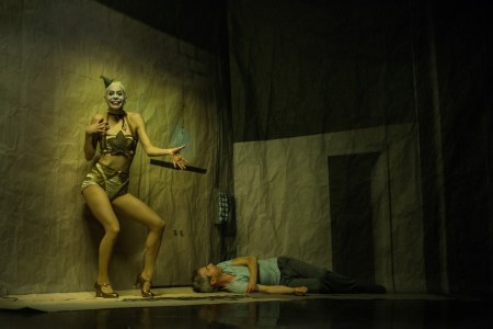 """Kidd Pivot and Electric Company Theatre in """"Betroffenheit."""" Wendy D Photography"""
