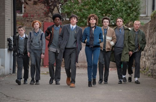 """The cast of """"Sing Street."""""""