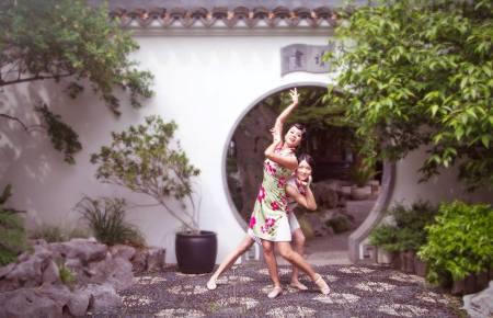 Victoria Chen and Jingzi Zhao. Photo by Jingzi Zhao.