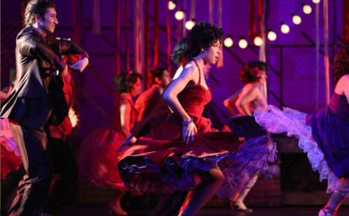 """Austin Arizpe and Kayla Dixon in Broadway Rose's """"West Side Story."""" Photo: Liz Wade"""