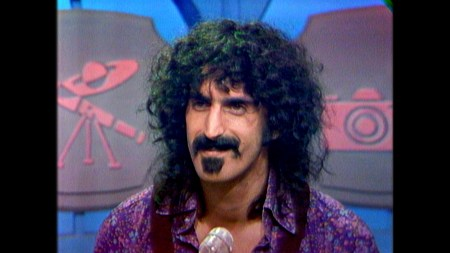 """Frank Zappa in a scene from """"Eat That Question"""""""