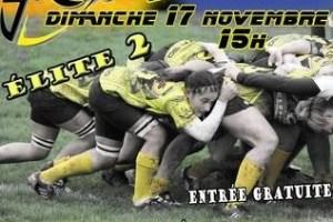 Affiche de la rencontre Romagnat - Sassenage dimanche 17 novembre à 15 heures à Romagnat