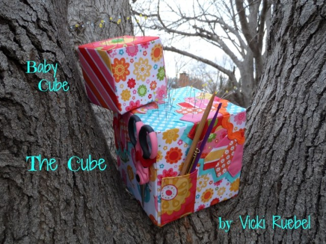 Quilting Lodge The Cube Pincushion