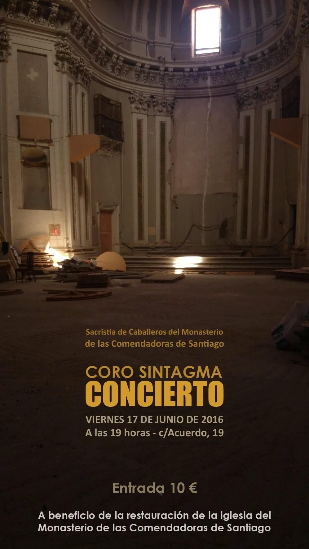 Monasterio for Concierto hoy en santiago