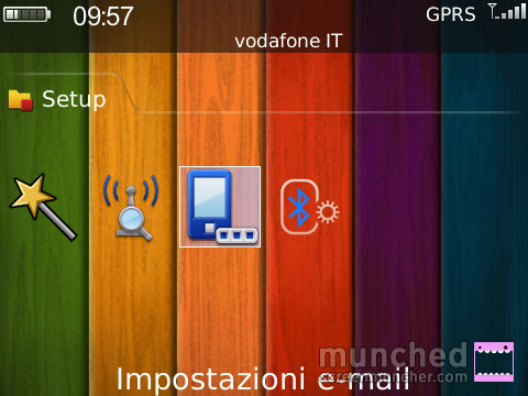 Configurazione Guidata Email BlackBerry