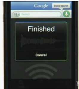 Comando vocale Google Mobile App