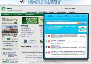 Page Hunt: gioca con Bing