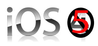 Apple iOS 5 Logo