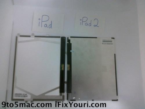 Schermo iPad 2, retro?