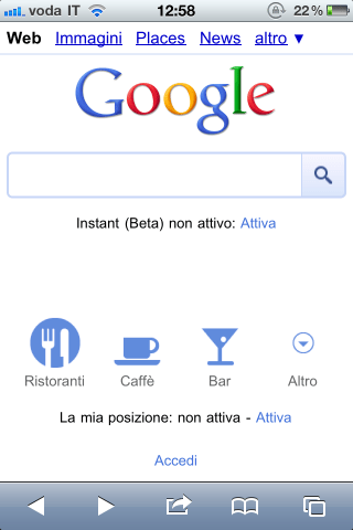 Google aggiorna interfaccia mobile