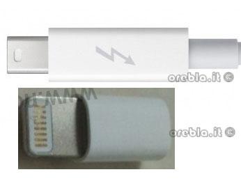 iPhone 5 connettore dock e thunderbolt