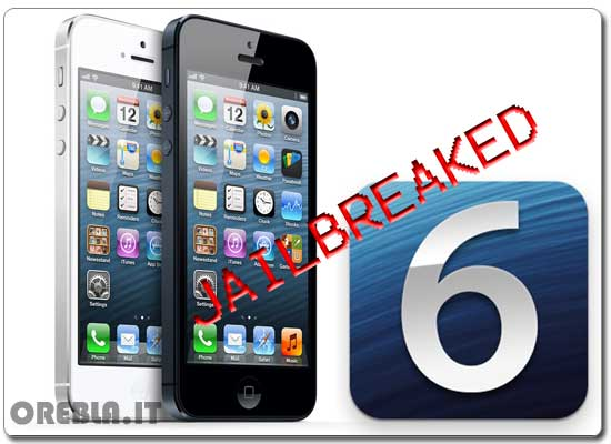 Jailbreak iOS 6.1 e iPhone 5