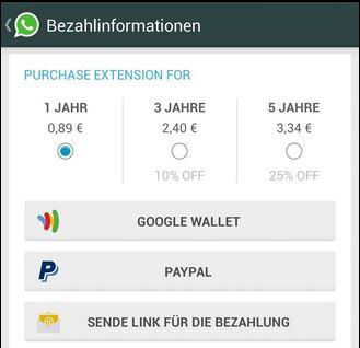 tariffe whatsapp