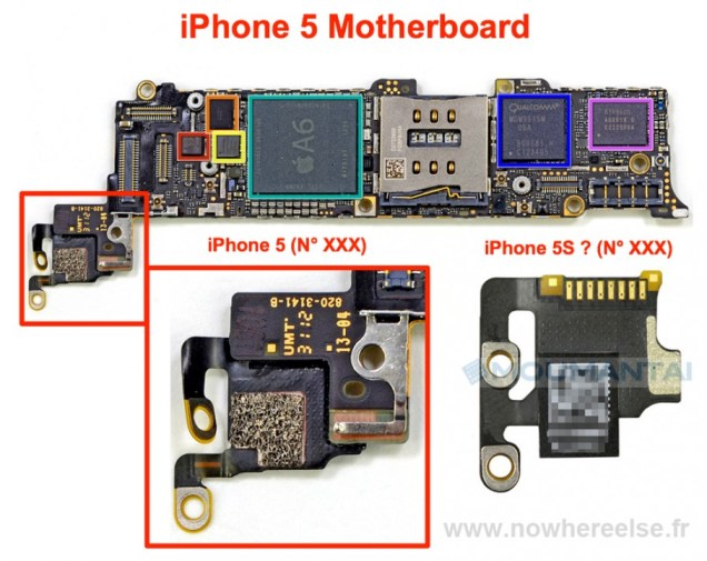 Svelato il modulo fotocamera di iPhone 5S?
