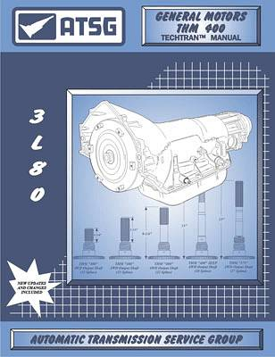 GM TH400 ATSG Transmission Service Manual 64-UP Rebuild Overhaul