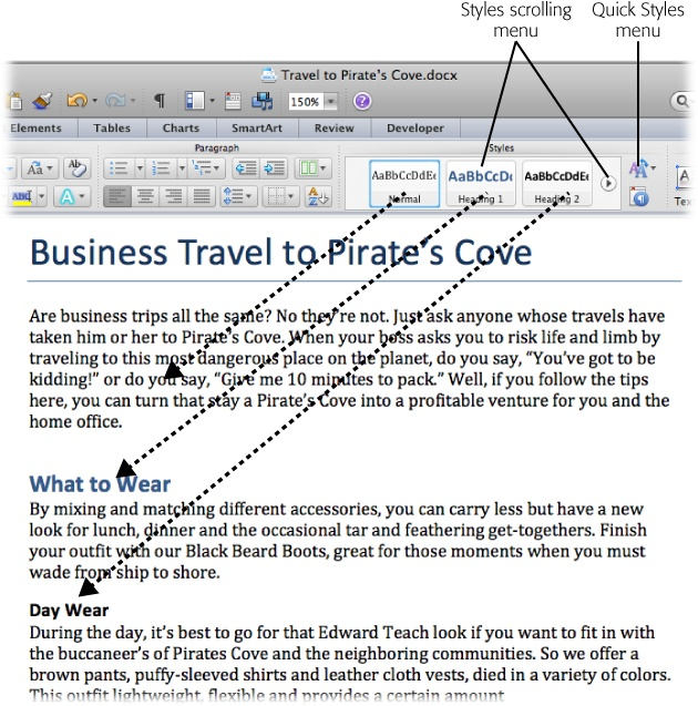 4 Setting Up Documents and Pages - Office 2011 for Macintosh The